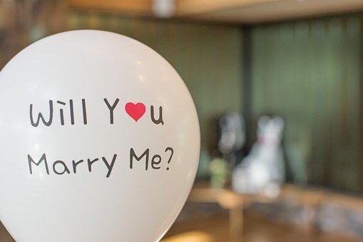 balonik z targów ślubnych