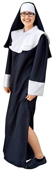 strój zakonnicy dla dorosłych Marlux